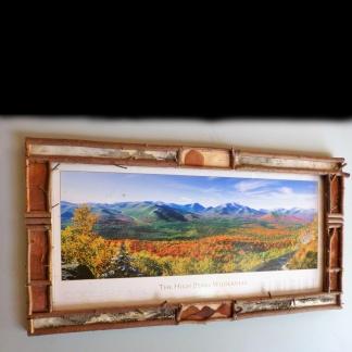 High Peaks Wilderness Print Frame
